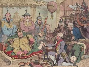ब्रिटिशांनी चीनवर लादलेली अफूबाजी